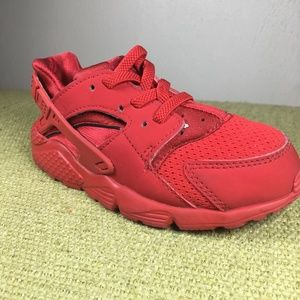 huge selection of 990a0 4ab3e Kids Black Sneakers Red Soles on Poshmark